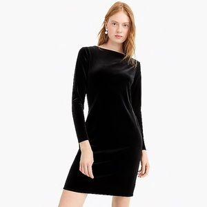 NWT J. Crew Velvet Knit Dress